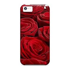 Protection Case For Iphone 5c / Case Cover For Iphone(velvet Roses)