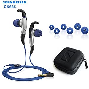 Xinkaize High quality Sennheiser CX685 Adidas Sports In Ear Earphone para iPod iPhone MP4