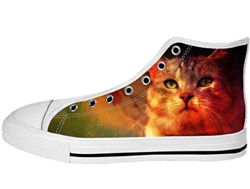 Zapatos De Lona Para Mujer Zapatos De Lona Altos20