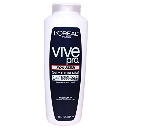 L'Oreal Paris Vive Pro For Men Daily Thickening 2-in-1 Shamp