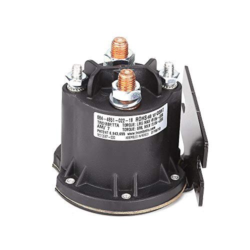10L0L 612711 Solenoid, 48-Volt, Used on 2010-current E-Z-GO Electric 48V TXT & All 48 Volt MPT 800/1000 Vehicles