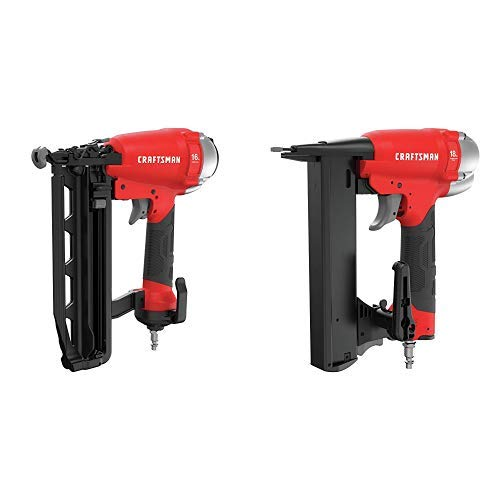 CRAFTSMAN 16GA Finish Nailer with 18GA Narrow Crown Stapler (CMPFN16K & CMPNC18K)