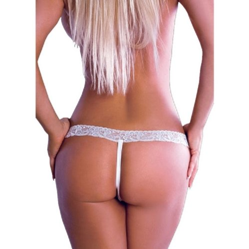BodyZone Apparel Womens Criss Cross Crotchless Thong