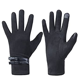Womens Winter Warm TouchScreen Gloves Texting Driving
