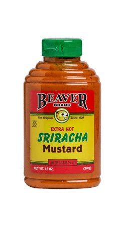 Beaver, Sriracha Mustard Squeeze 12 oz. (6 count)