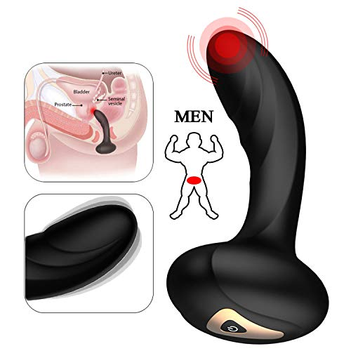 Vibrators Women Dress-Shop 9 Frequency Silicone Prostate Massager for Men USB Rechargeable Anal Vibrator Sex Toys Male Sexual Wellness Stimulator