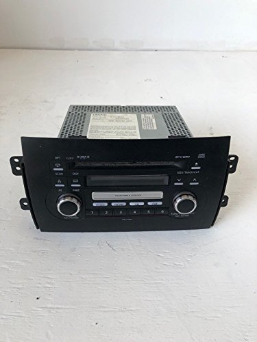 Suzuki 2010 SX4 A/V Equipment AM-FM-stereo-MP3-XM-single disc CD player