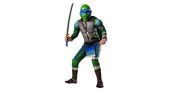 Amazon.com: Deluxe Teenage Mutant Ninja Turtles – Disfraz ...