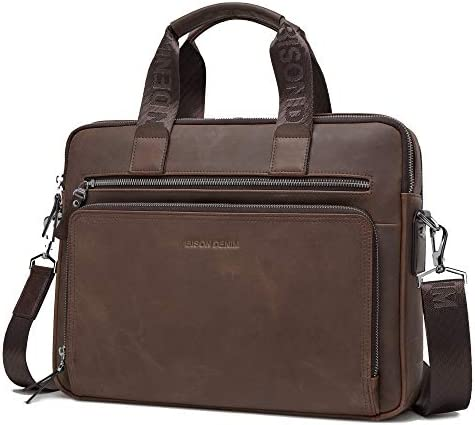 BISON DENIM Briefcase Messenger N2333 3ZF