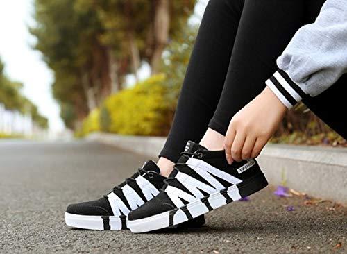Autunno Leggero Da Ysfu Casual Sneaker All'aperto Donna Bende Bianche Traspiranti Bianca Tela E Scarpe Primavera Paio Sportive xUU8wtrZnq