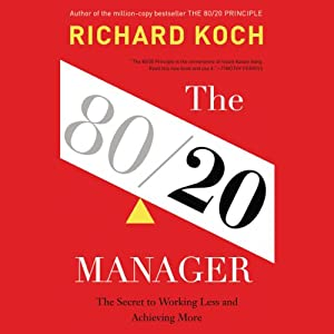 The 80/20 Manager Audiobook