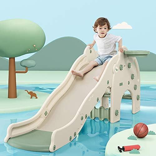 WELSPO Freestanding Slides for Kids Baby Slide Indoor//Outdoor Climber Toddler...
