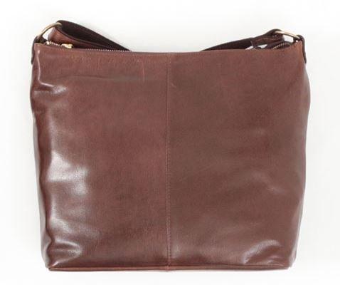 良質牛革 ショルダーバッグ 本革 日本製 チョコ No.2692 レディースバッグ (鞄 かばん バッグ) 女性かばん B0799F4DC7