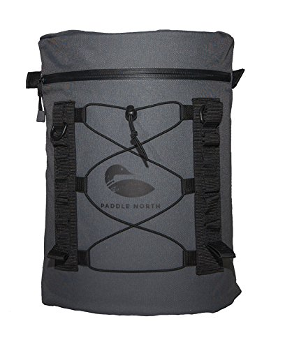 Stand Up Paddle Board Deck Bag with Dry Waterproof Insert - Works with any SUP, Kayak or ()