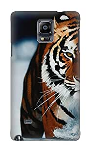 Forever Collectibles Animal Tiger Hard Snap-on Galaxy Note 4 Case With Design Made As Christmas's Gift