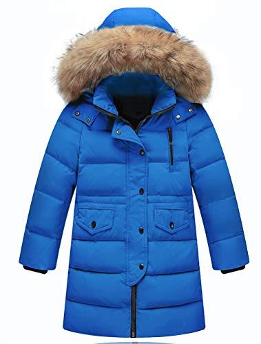 Odziezet Jas met capuchon, uniseks, jongens, winterjas, gewatteerde jas, parka, capuchon, donsjack, 0-13 jaar