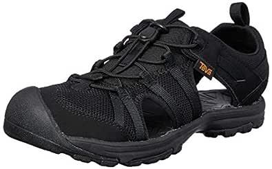 Teva Manatee Y, Boys Shoes, Black (Black), 4 US