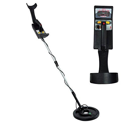 Pyle PHMD55 - Metal Detectors Water Proof Search Coil Treasure Hunter Pin-Point Detector, Adjustable Sensitivity, Headphone Jack