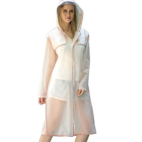 Poncho Mujeres Libre Largo Borde Transparente Aire Senderismo Adulto Modernas Moda De Viaje Impermeable Blanco Montañismo Sombrero 6EIxqw5w