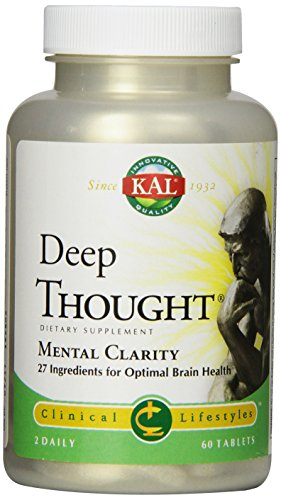 KAL Deep Thought Tablets, 60 Count