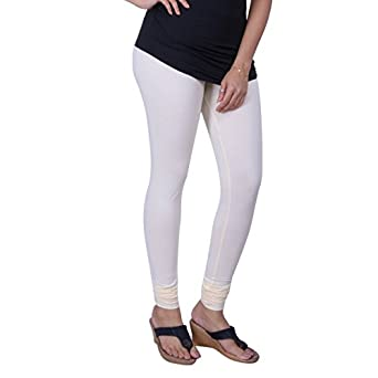 6777790961938 Lux Lyra Silk Women's Indian Churidar Leggings - Off White: Amazon.in:  Clothing & Accessories