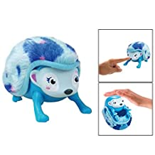 OFKPO Interactive Hedgehog Intelligent Inductive Hedgehog With Lights, Sounds and Sensors Baby Hedgehog Toy (Blue)
