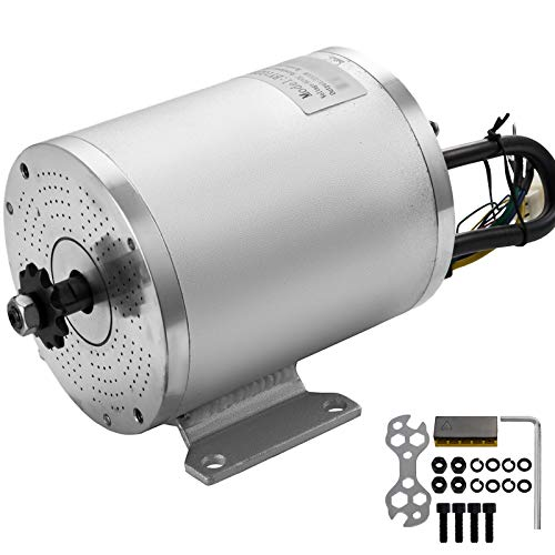 8c121adbf1997 Mophorn Electric Brushless Motor with 11 Tooth Sprocket and Mounting ...