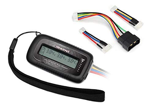 (LiPo Cell Voltage Checker/Balancer (Includes #2938X Adapter for Traxxas iD Batteries) )