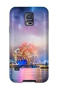 New Fashion Premium Tpu Case Cover For Galaxy S5 - Singapore City