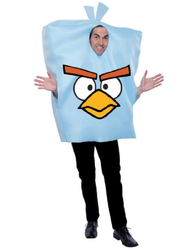 Paper Magic Angry Birds Ice Bomb Bird Costume, Blue, One -