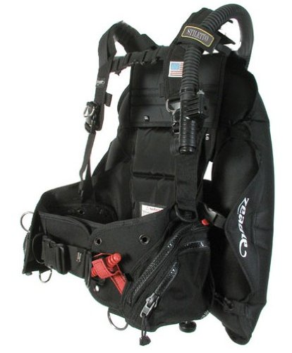 Weight System Scuba - Zeagle Stiletto BCD with The Ripcord Weight System, Black, Medium
