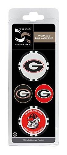 Team Effort Georgia Bulldogs Ball Marker Set