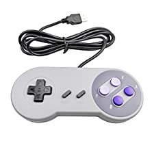 SUPER NES USB CONTROLLER FOR PC AND MAC - Mario Retro Brand - Generic