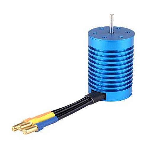 Brushless Electric Machine, Putars 9T 4370KV Brushless Motor+45A ESC Waterproof Compatible for 1/10 RC Car Boat Crawler,RC