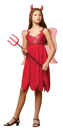 Devil Fairy Costume Girl - (Daria Costume Halloween)