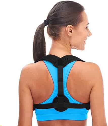 Andego Back Posture Corrector for Women & Men - Effective and Comfortable Posture Brace for Slouching & Hunching - Discreet Design - Clavicle Support