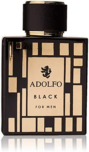 Adolfo Dominguez Black By Adolfo Dominguez for Men - 3.4 Oz Edt Spray, 3.4 Oz