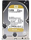 WD西部数据 Gold 1TB Datacenter 硬盘驱动器 7200 RPM Class SATA 6Gb/s 128MB缓存 3.5英寸(约8.9厘米) WD1005FBYZ 金色 2TB