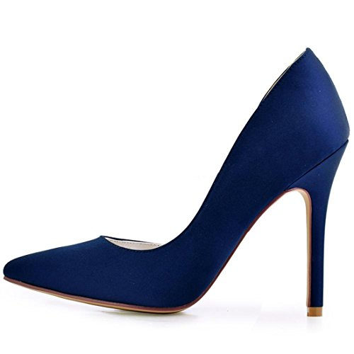 Marino Donne Blue Minitoo Tallone mz8210 Per Minitoouk Blu 5 Centimetri 36 Le 10 Pompe nX0Xq18gw
