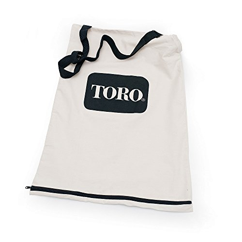 (Toro 51503 Bottom Zip Replacement Bag, White)