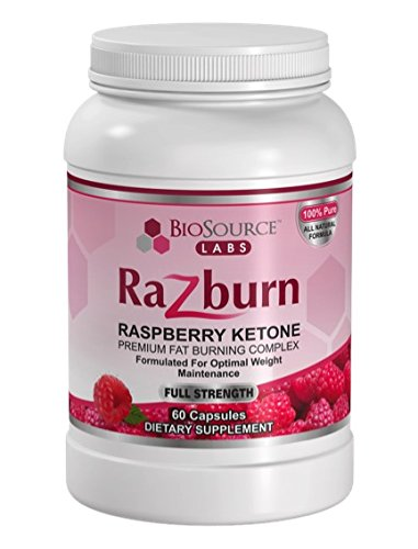 [FromUSA]100% Pure Raspberry Ketones Complex By BioSource Labs (60 Veggie  Caps. ‹ ›