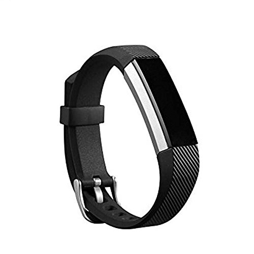 Newest Replacement Wristband With Watch Buckle Design for Fitbit Alta HR and Alta (No Tracker) ()