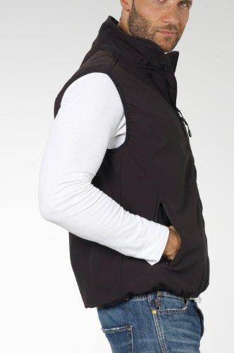 calidad de Five softshell cortavientos membrana negro hombre para Tex Chaleco Five Fifty gran PSTxEqAwP