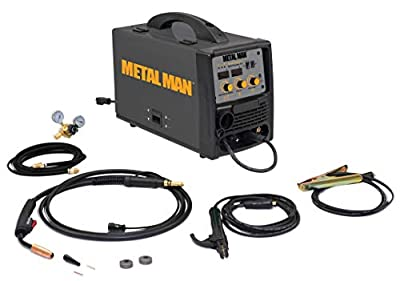 Metal Man Inverter Powered 120V Multi-Process Welder