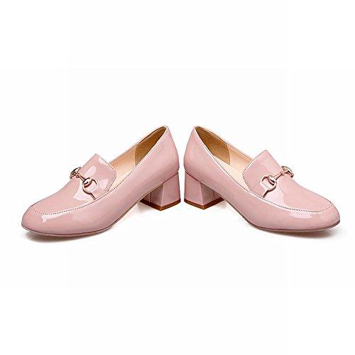 77e0cc50980 Latasa Women s Chunky Heels Slip on Loafers Shoes high-quality ...