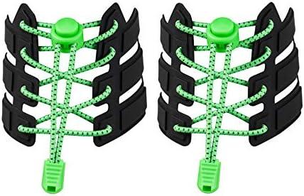 反射弾性ロック靴ひもクイックレーシング大人用子供靴ひもなしランナー