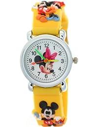 TimerMall Mickey Mouse Swim Water Resistant Kids Quartz Fashion Time Teacher Watches