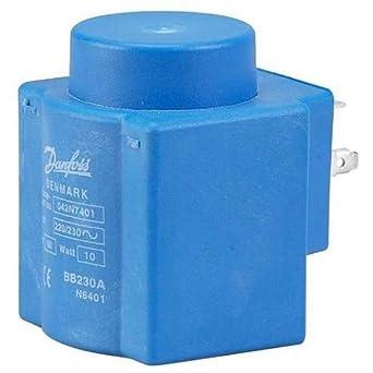 Bobina para válvula solenoide Danfoss 24V Dc