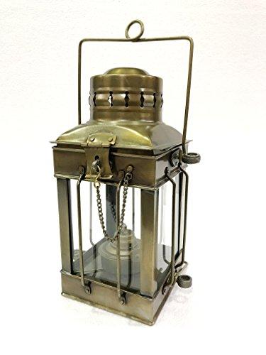 Vintage Marine Anchor Decorative Oil Lamp Nautical Ship Lantern Antique Finish by Marine Nautical Store