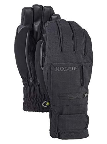 Burton Baker Under Gloves - Burton Men's Baker 2-in-1 Under Gloves, True Black, Large